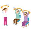 アイコン:体操・午後の活動